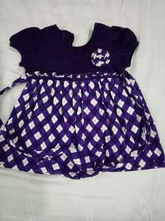 Baby kiko Purple dress