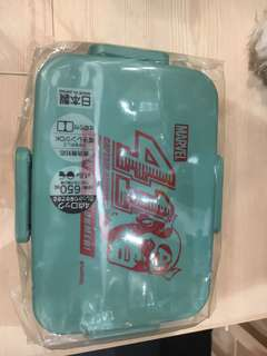 Marvel's lunch box (made in Japan)
