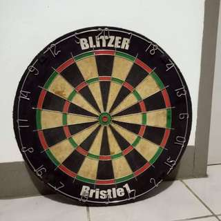 Authentic Blitzer Dart Board