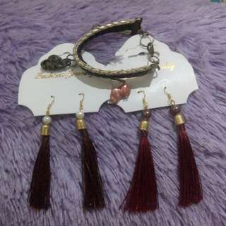 Take All 3pcs, anting n gelang