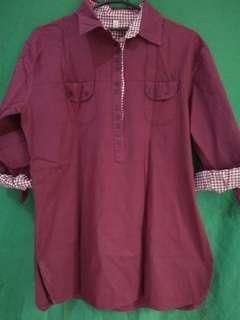 Purple Carren shirt