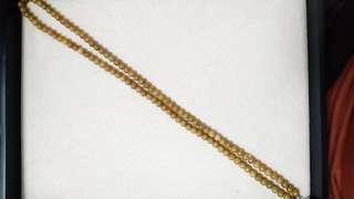 緬典玉珠108頸鍊