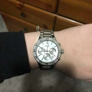 Silver DKNY Watch