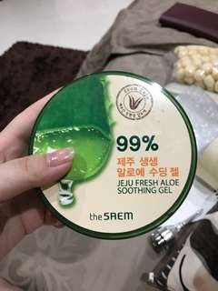 The Saem Jeju Fresh Aloe Soothing Gel