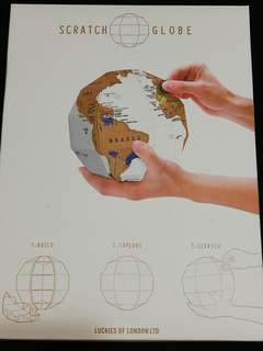 Build, Explore Scratch Globe
