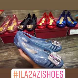 Ferragamo Jelly Shoes