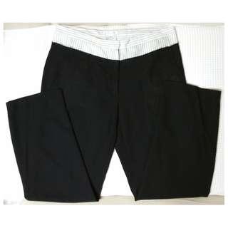 ANN DEMEULEMEESTER Black Pants