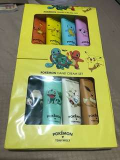 Pokemon hand cream set