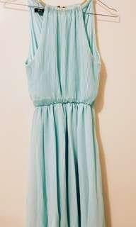 Tiffany Teal Maxi Dress