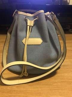 Longchamp drawstring bag