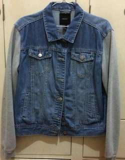 F21 denim jacket
