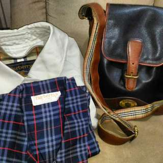 Authentic Burberry's on sale!