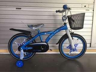 "Sportive 18"" Police Children Bike"