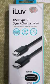 🚚 BRAND New type C to type C cable