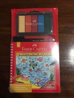 Faber-Castell Finger Printing Art Book