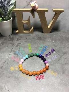 多宝水晶 Multi-Crystals Bracelet