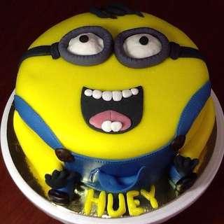Birthday Themed Cake