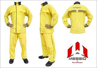 Jas Hujan / Raincoat Messio Ventilator Kuning