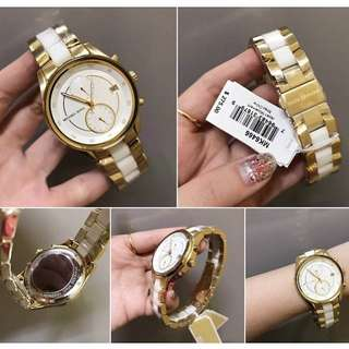 Authentic Michael Kors two tone watch