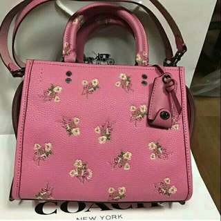 Coach rogue 25 flower bow original