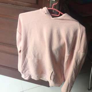 H&m hoodie pink