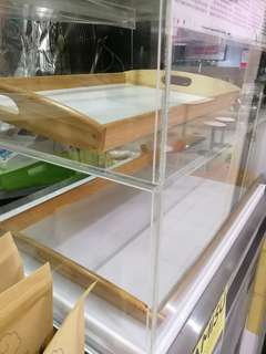 Acrylic display case for selling