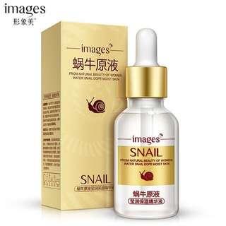 🦋IMAGES Snail Essence Oil Control Facial Cream Deep Moisturizing Liquid🦋