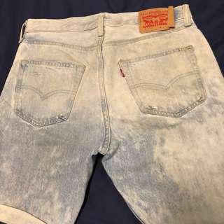 🚚 Levi's 501 ct牛仔短褲(29)