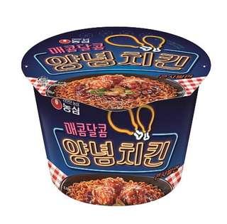 韓國 辣炸雞拌杯麵