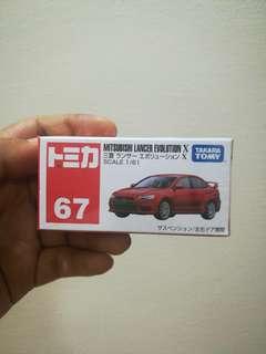 Mitsubishi Lancer Evo X Tomica