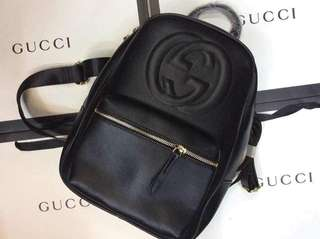 Bundle of 3 Coach backpack Coach doctor's bag and Gucci sling