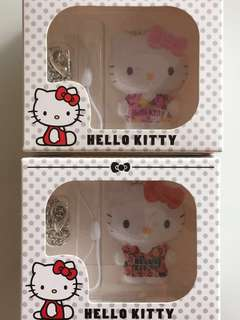 Limited Edition brand new Hello Kitty pink and red Color ezlink charms for $29.90 EACH.