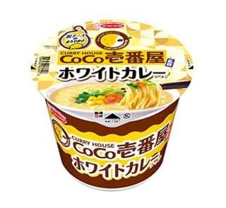 日本 壹番屋白咖哩杯麵