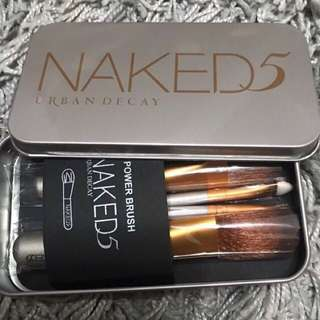 Promo sale In stock naked 5 makeup brush