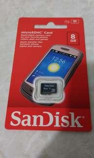 SanDisk microSDHC Card 8GB