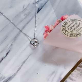 🚚 韓製項鍊-迷你戒指款