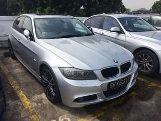 BMW E90 325 i drive sunroof