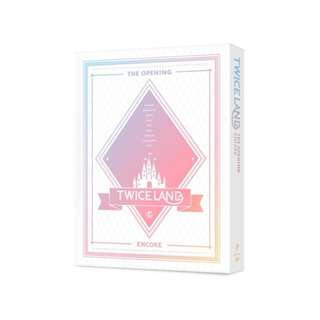 TWICE TWICELAND THE OPENING CORE DVD