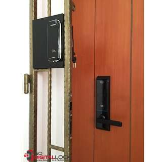 Schlage S6000 + Loghome LH300MG Card Digital Lock Bundle for HDB and BTO at $980