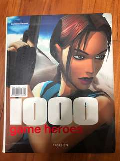 1000 Game Heroes by Taschen