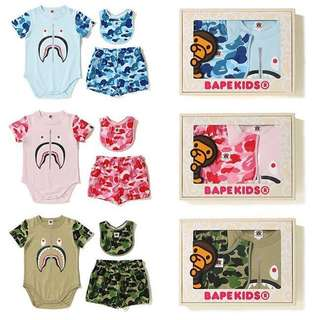 BAPE ABC BABY GIFT SET