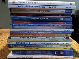 Senior High School Books For Sale! :)