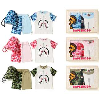 BAPE ABC SHARK KIDS GIFT SET