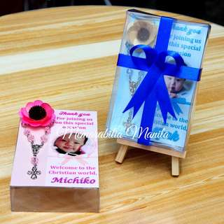 Baptism Board - Rosary giveaway souvenir
