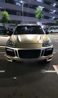 Porsche Cayenne Gts For Wedding Services.