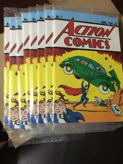 Action Comics #1 with COA (reprint)