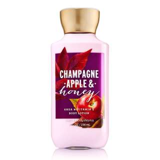 CHAMPAGNE APPLE & HONEY SIGNATURE COLLECTION LOTION