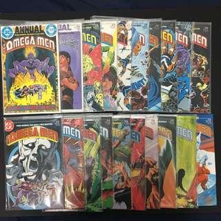 Omega Men DC Comics Book Superhero TV Cartoon Movie