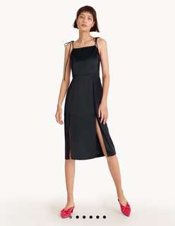 Tie up midi dress from POMELO