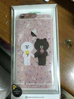 韓國 全新Line friends iphone 6/6s plus 專用電話套